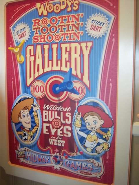 Woody S Rootin Tootin Shootin Gallery Poster At Toy