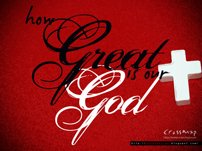 Christian Backgrounds Wallpaper - How Great Is Our God