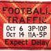football traffic