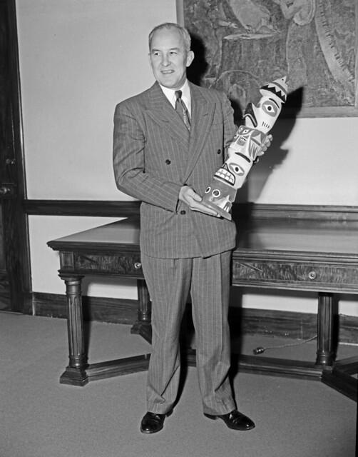 Mayor William F. Devin, 1949