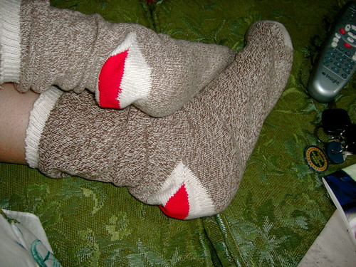 Day 351: Sock monkey socks
