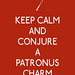 Keep Calm and Conjure a Patronus Charm by 3LambsStudio