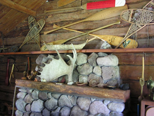 Inside Sigurd Olson's Cabin