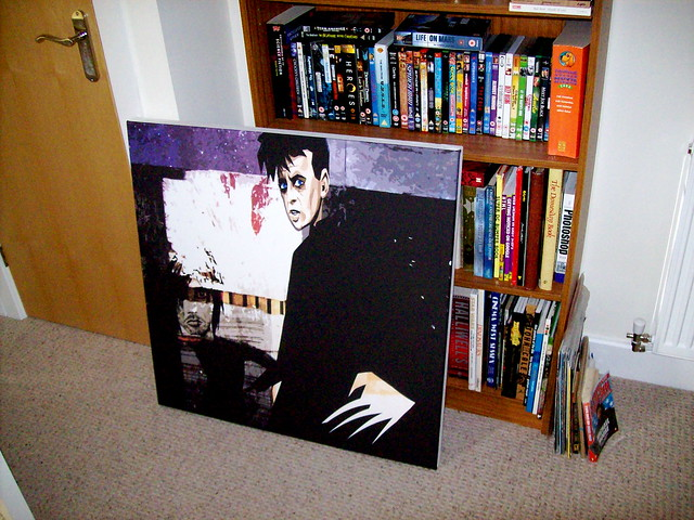 Gary Numan on Canvas