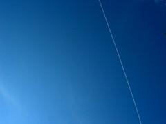 Blue Sky Jet Stream