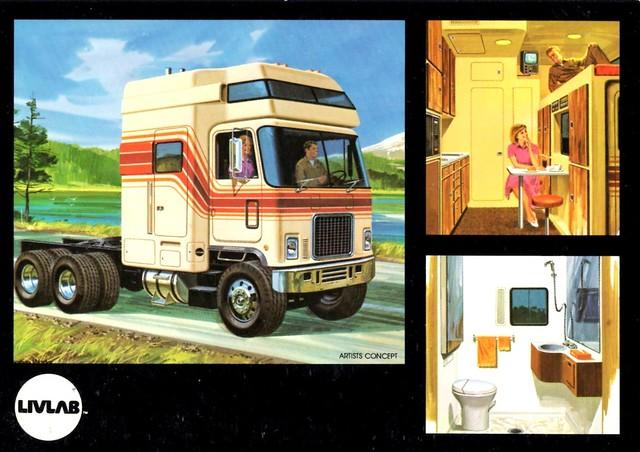 1979 livlab custom truck sleeper cab flickr photo sharing. Black Bedroom Furniture Sets. Home Design Ideas