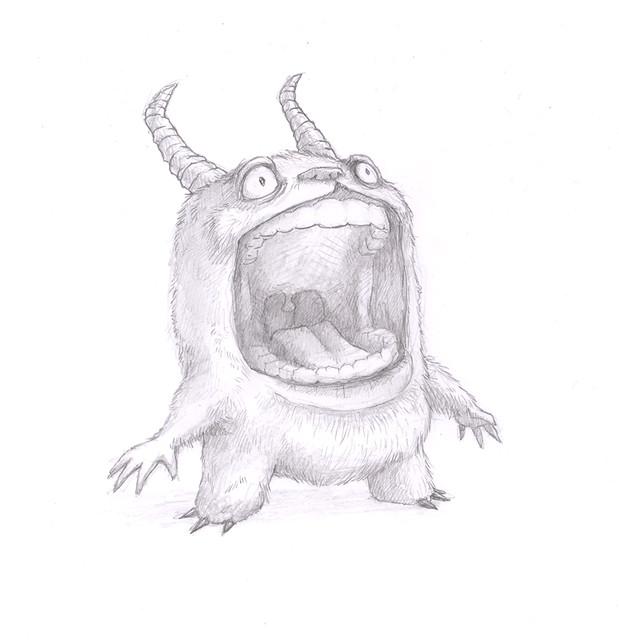 A Monster Drawing | Flickr - Photo Sharing!