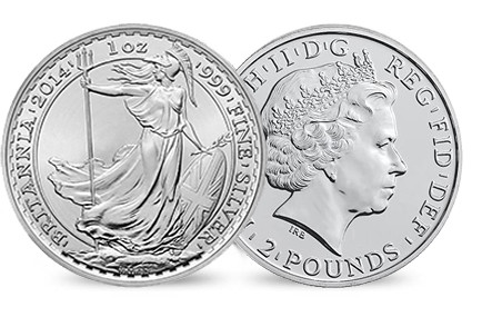 Britannia muled error coin