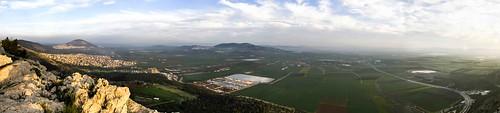 panorama landscape nazareth tavor supershot vallry kesulot