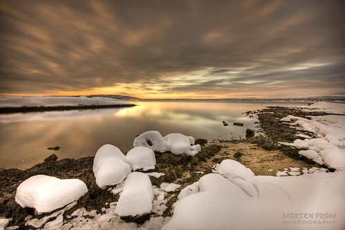 ocean morning winter light sea sky orange sun snow black color reflection ice beach nature water yellow oslo norway stone clouds sunrise landscape island golden norge sand rocks tripod skandinavien norwegen wideangle explore shore noruega february scandinavia peninsula 2009 hdr goldenhour oslofjord huk noorwegen noreg wideangel sigma1020mm skandinavia nd1000 abigfave nd30 bw110 canoneos40d theunforgettablepictures nd1000x naturaldensityfilter mortenprom mortenrovik