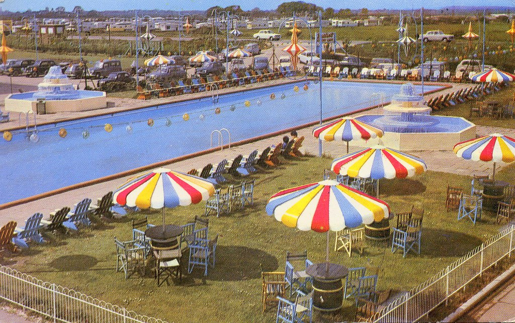 Butlins Skegness The South Pool Old Postcard A Photo On Flickriver