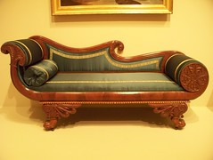 furniture, brown, wood, loveseat, living room, couch, studio couch,