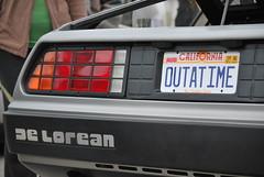 automobile, automotive exterior, vehicle, delorean dmc-12, bumper, land vehicle, luxury vehicle, vehicle registration plate,