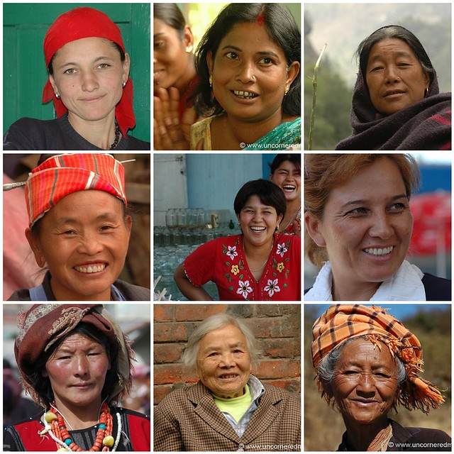 Amazing Women of Asia Mosaic