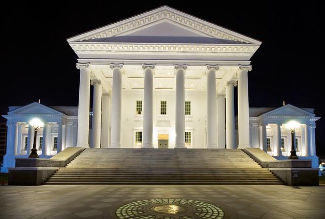 Virginia state capitol interior
