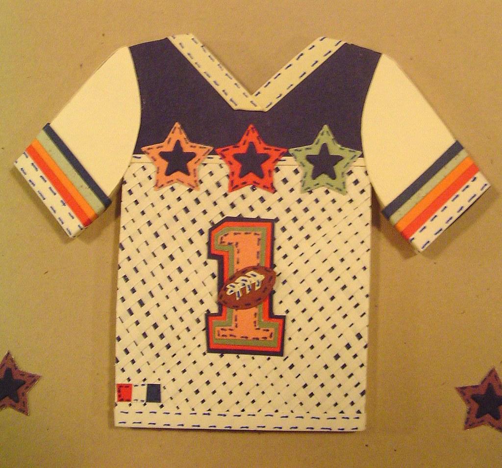 Order a paper football jersey