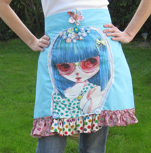 One of a Kind Blythe Couture Apron