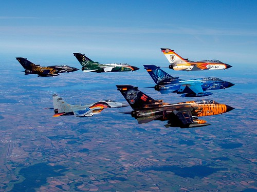 Panavia PA200 Tornado Formation Flight