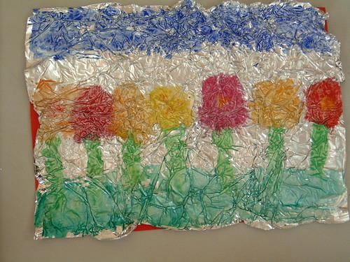 Aluminuim foil art