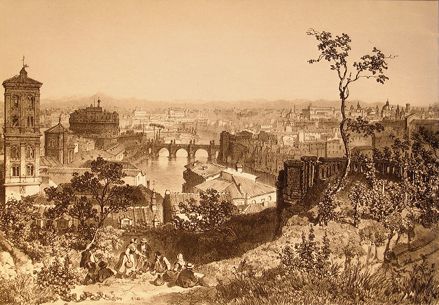 1846 2008 Via Longara Veduta dal Gianicolo