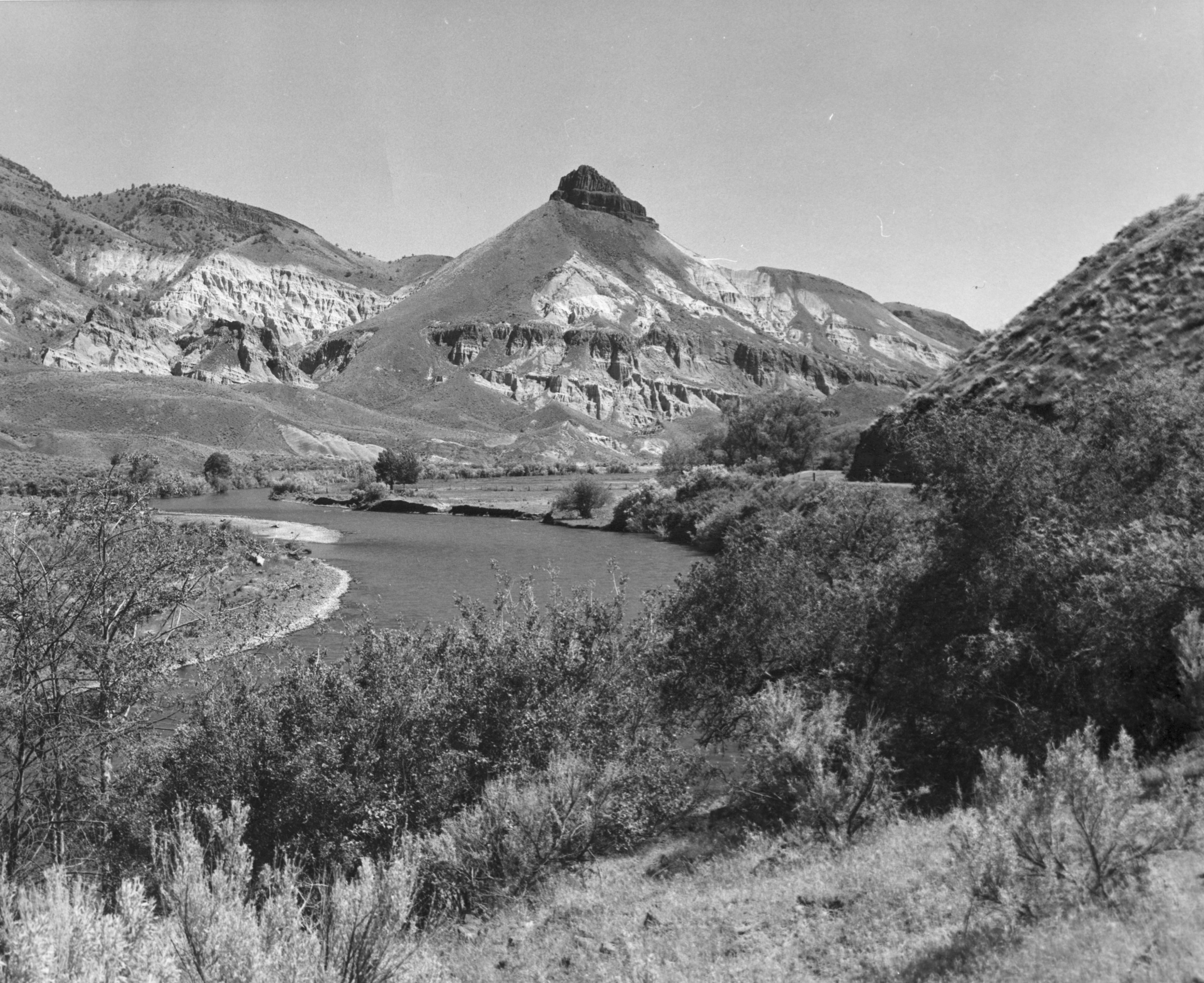 Sheep Mountain, fossil beds of the John Day River, Oregon