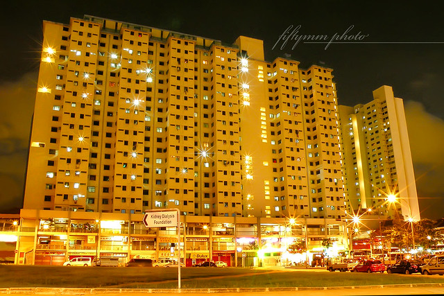 the golden building - Singapore HDB | Flickr - Photo Sharing!