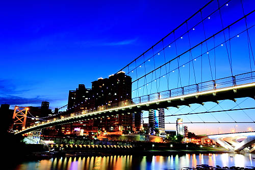 186I碧潭吊橋-夜景