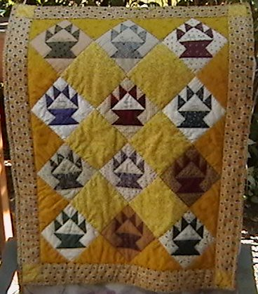 Basket Signature Quilt
