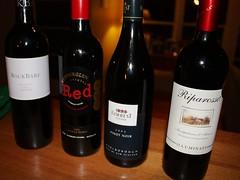 Austerity wine night