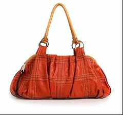 bag(1.0), orange(1.0), shoulder bag(1.0), brown(1.0), hobo bag(1.0), handbag(1.0), maroon(1.0), leather(1.0), tote bag(1.0), tan(1.0),