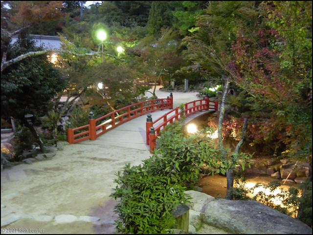 Bridge at Night, long exposure