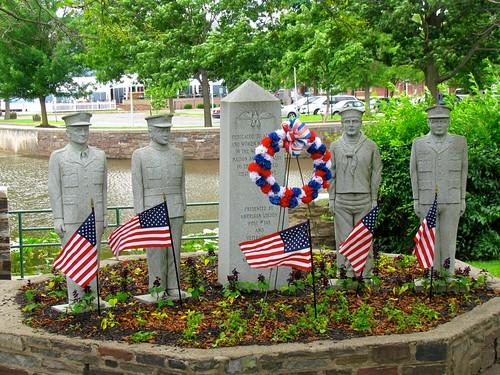 Memorial, Hightstown, New Jersey by Bogdan Migulski