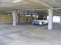 floor, building, wood, car park, real estate, parking, flooring,