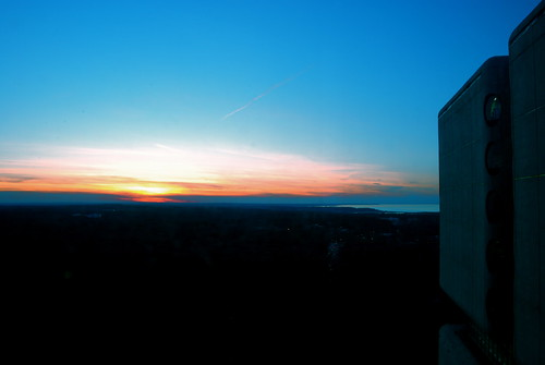 19th floor sunset!