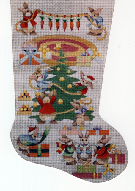 Needlepoint Christmas Stocking 62 Flickr Photo Sharing