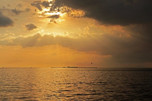 sunset manilabay baywalk roxasboulevard baywalksunset explored explorefrontpage mamre vosplusbellesphotos mmlim