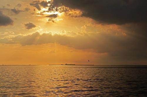 sunset manilabay baywalk roxasboulevard baywalksunset explored explorefrontpage mamre vosplusbellesphotos mmlim