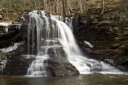 fall water canon