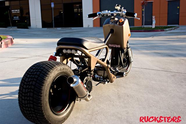 Modified Honda Ruckus For Sale