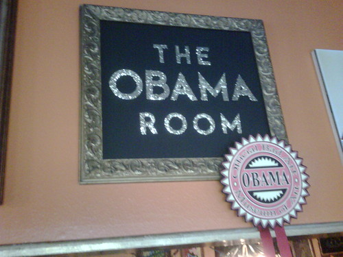The OBAMA room
