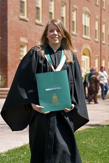 Jessica and her degree