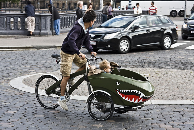 Copenhagen SUV - Triobike in Motion