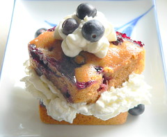 Photo of Blueberry Gingerbread