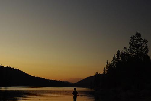 california blue trees sunset summer orange lake black colors pentax shaverlake ilovecalifornia everythinginbetween k200d pentaxk200d pentaxda1855mmf3556alii