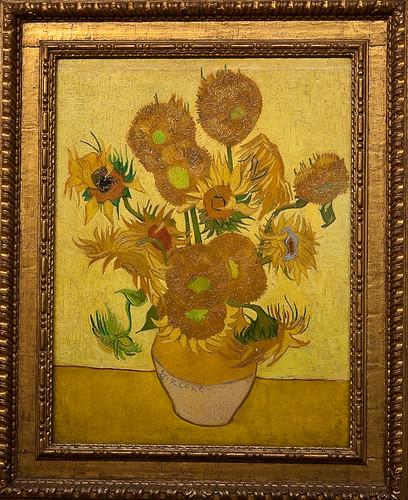 Van Gogh Museum - Sunflowers, 1889