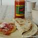 Honduran Food, Papusa and Baleadas - La Esperanza, Honduras