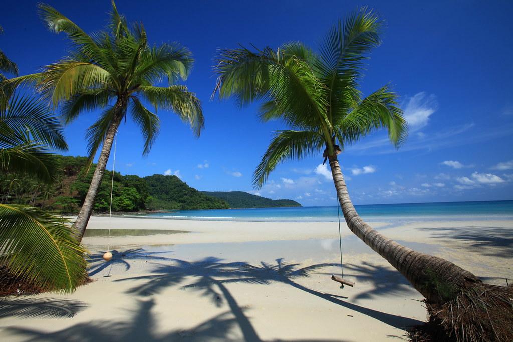Strand på Koh Kood