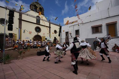 Dia de canarias, XVII edición de la Fiesta de La Lana en Caideros G…