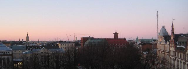 Helsinki in February