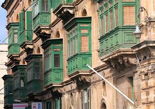Bay Windows; Valletta
